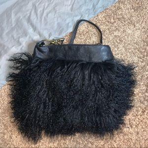 Foley + Corinna Mongolian Fur Crossbody